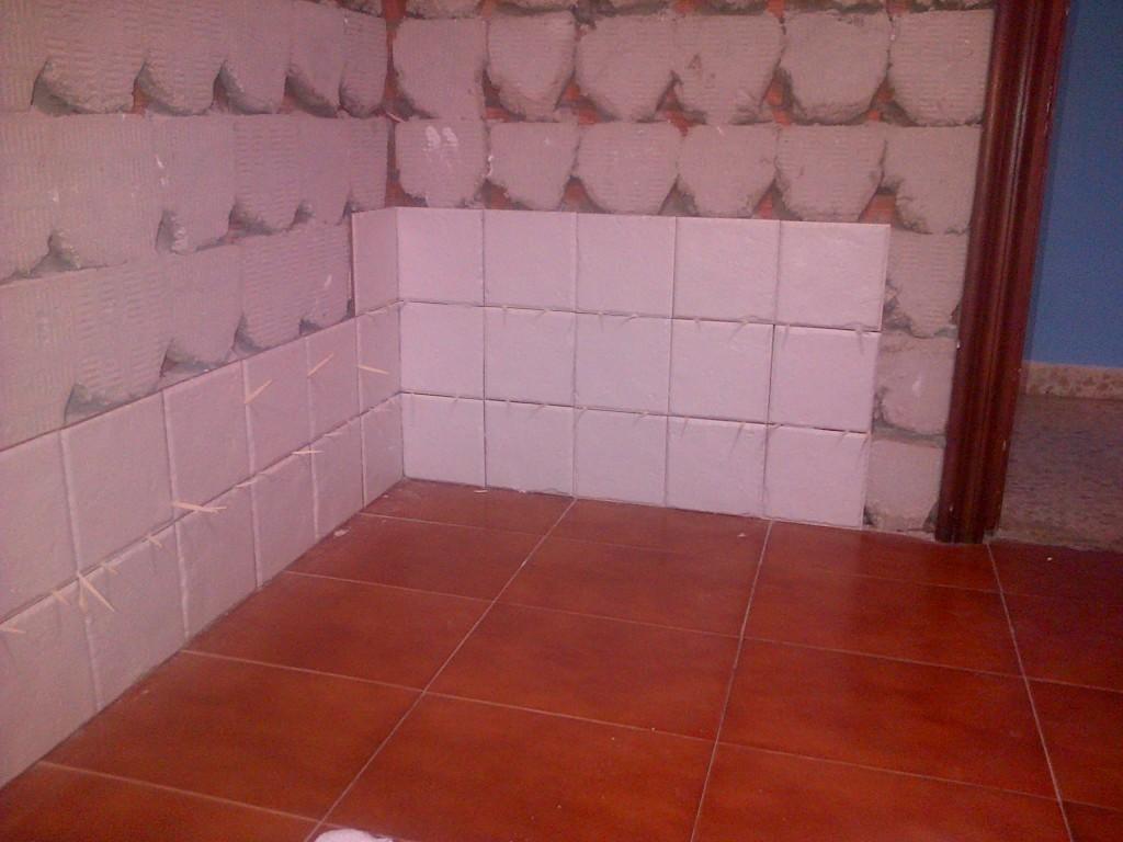Tiles on wall