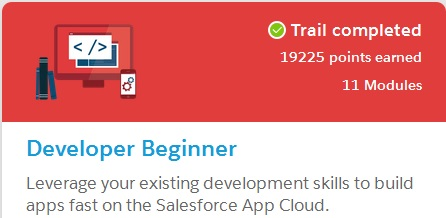 SFDC-Trailhead-Developer-Beginner