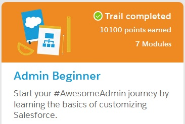 SFDC-Trailhead-Admin-Beginner